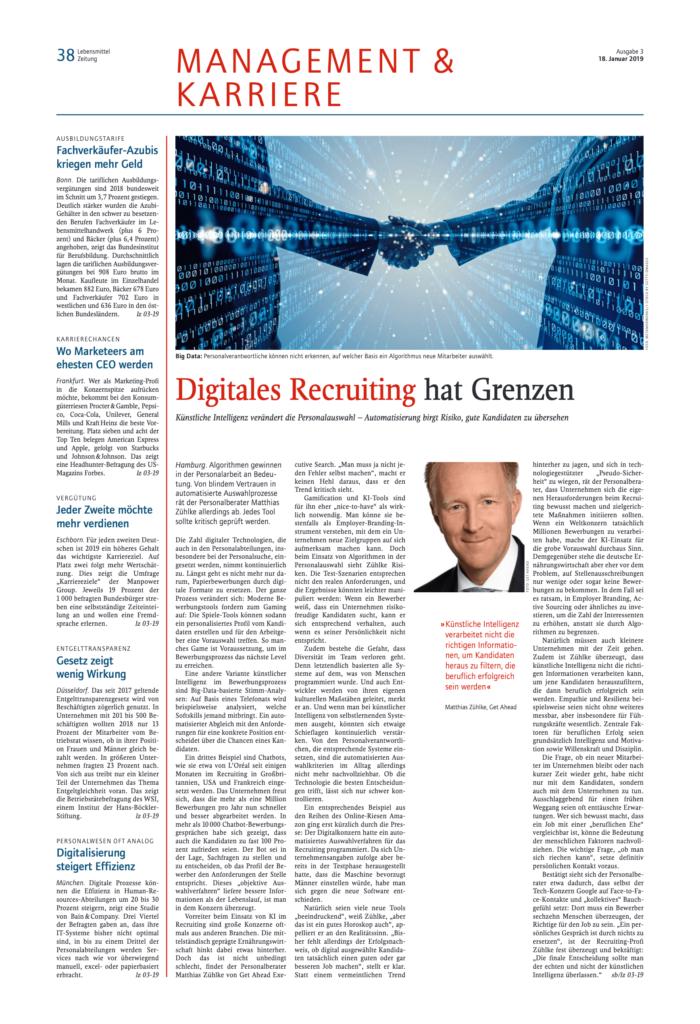 get ahead digitales recruiting hat grenzen